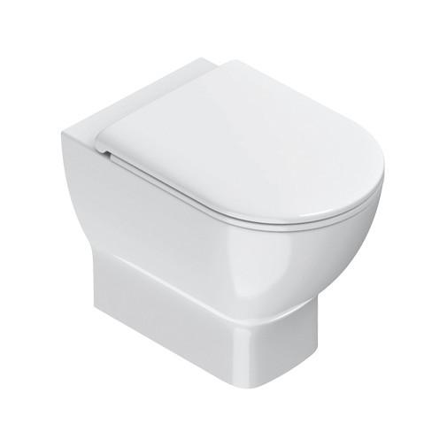 Vaso a terra in ceramica bianca 54x35 cm - Sfera Eco, Catalano
